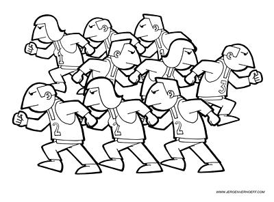 Jeroen Verhoeff Illustraties Cartoons