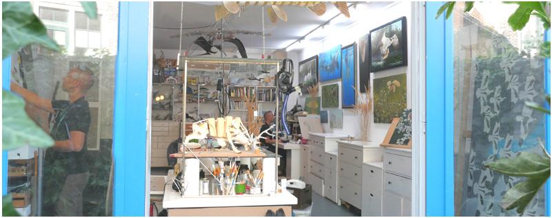 Galerie en atelier Jeroen Verhoeff