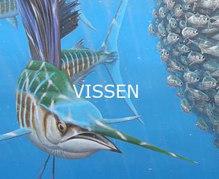 Jeroen Verhoeff Natuurschilderijen Vissen
